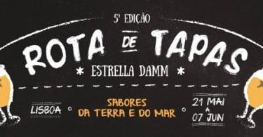 Rota de Tapas Estrella Damm regressa a Lisboa e ao Porto