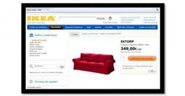 IKEA aposta em vendas online de sofás