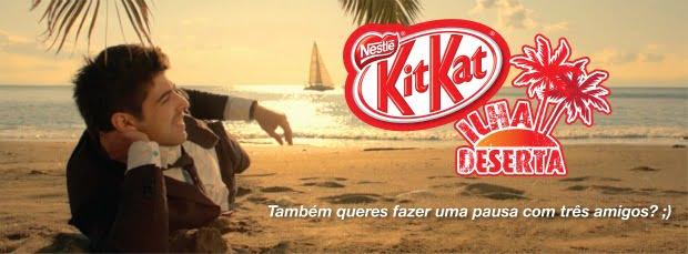 Kit Kat convida consumidores para uma pausa numa ilha paradisíaca