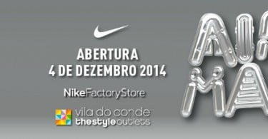 Maior Nike Factory Store do país abre em Vila do Conde