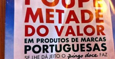 Pingo Doce lança promoção de 50% em produtos nacionais