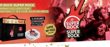 Super Bock Super Rock lança Fã Pack na Fnac