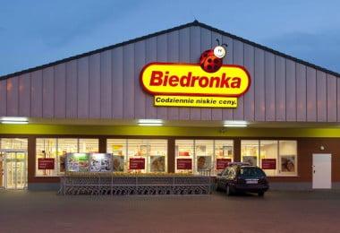 Biedronka entre os 30 retalhistas mais famosos