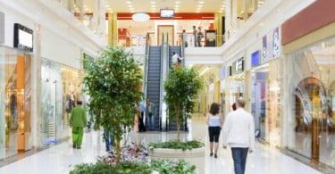 Vendas nos centros comerciais espanhóis caem em 2011