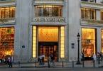 Retalho de luxo em alta em Paris