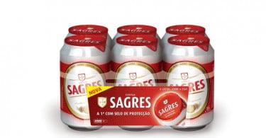 Sagres lança inovação para as latas