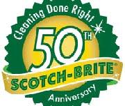 Scotch-Brite comemora 50 anos