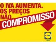 Subida de IVA não aumenta preços no Lidl