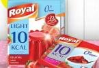 Royal lança gama de gelatinas em pó com 10 kcal por porção