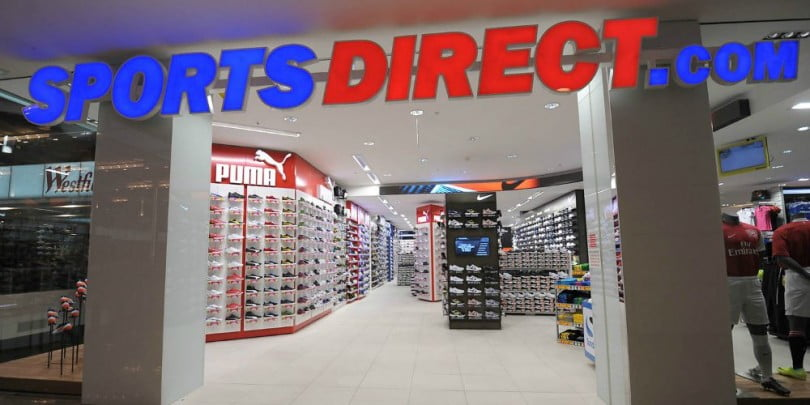 8b6ace8c6 A Sports Direct revelou esta semana que as suas vendas online atingiram  383,8 milhões de libras no último ano fiscal, um crescimento de 14,4% face  ao ...