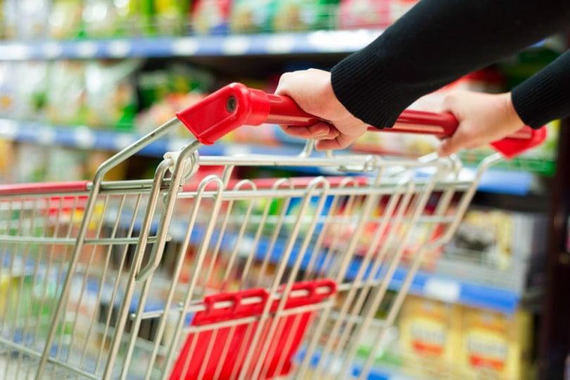 supermercado carrinho Distribuição Hoje