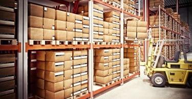 armazém supply chain