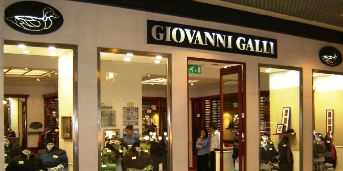 Giovanni Galli reabre três lojas