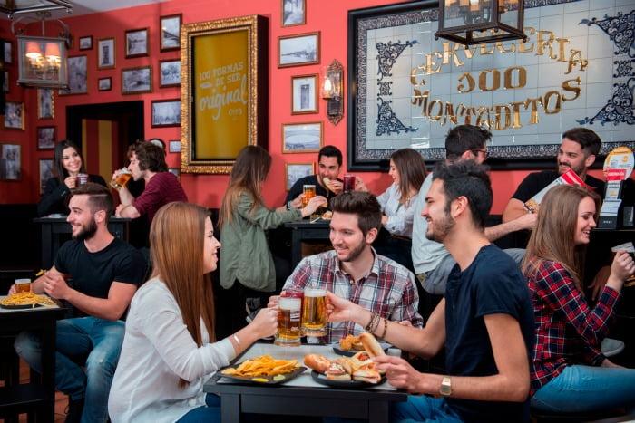 Montaditos restaurante cervejaria