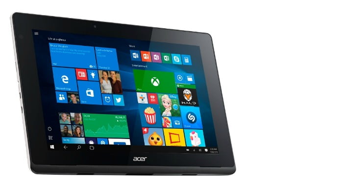 Acer tablet aspire