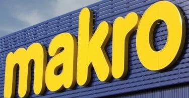 Makro - logo - fachada da loja