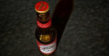 garrafa de cerveja Budweiser
