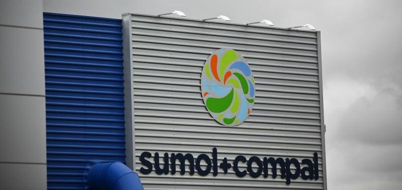 Fábrica da Sumol+Compal em Almeirim, 9 de abril de 2013. MARIO CRUZ/LUSA