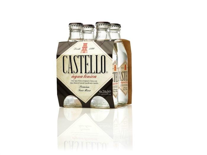 Castello Água Tónica - packaging - Distribuição Hoje