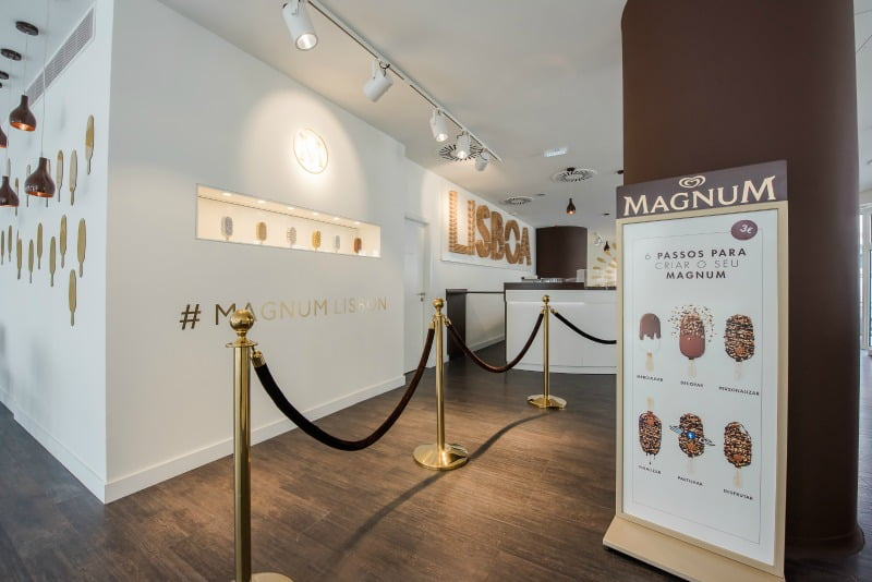 Magnum deixa consumidores personalizarem o seu pr prio gelado for Magnum pop up store