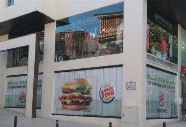 Burger King Cascais - Distribuição Hoje