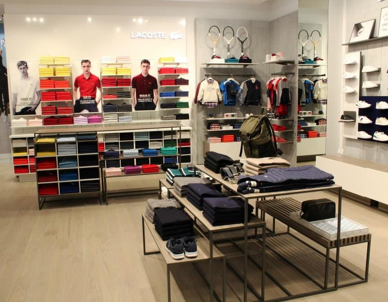 e61929475a684 A Lacoste inaugurou na passada semana uma nova loja no NorteShopping.