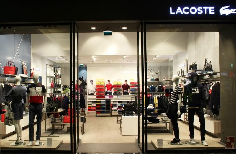 7c082e61d89a7 Lacoste abre loja no NorteShopping - Distribuição Hoje