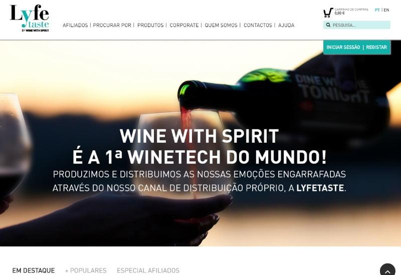 Lyfetaste Wine With Spirit Distribuição Hoje