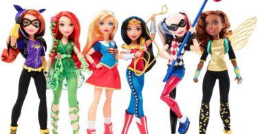 Mattel - DC Super Hero Girls - Distribuição Hoje