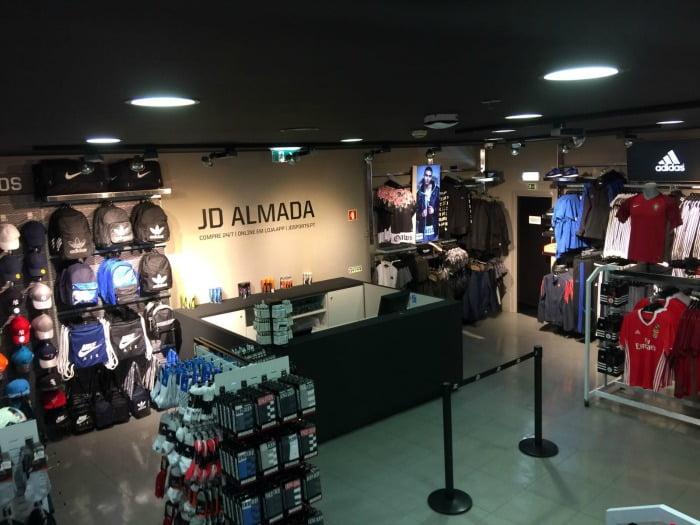 624d7d6b134 JD Sports abre a maior loja da marca no Almada Forum - Distribuição Hoje
