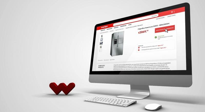 Site da Worten domina entre os sites de e-commerce