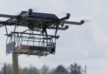 entregas com drones