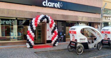 lojas Clarel em Portugal