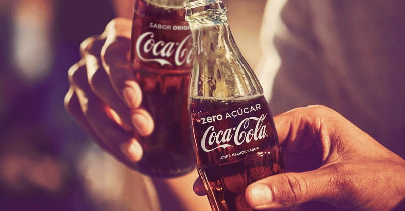 Coca-Cola Zero - Distribuição Hoje