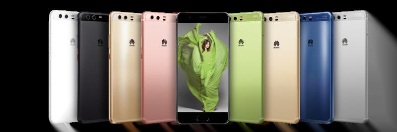 Huawei P Distribuição Hoje