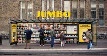 lojas pop-up virtuais Jumbo