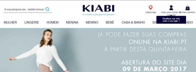 80d38b6ef loja online da Kiabi. A marca de moda low cost Kiabi anunciou esta sexta- feira ...