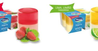 Mimosa Iogurte Magro e Gelatina