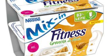 iogurtes Nestlé Mix-in Fitness Granola de Aveia