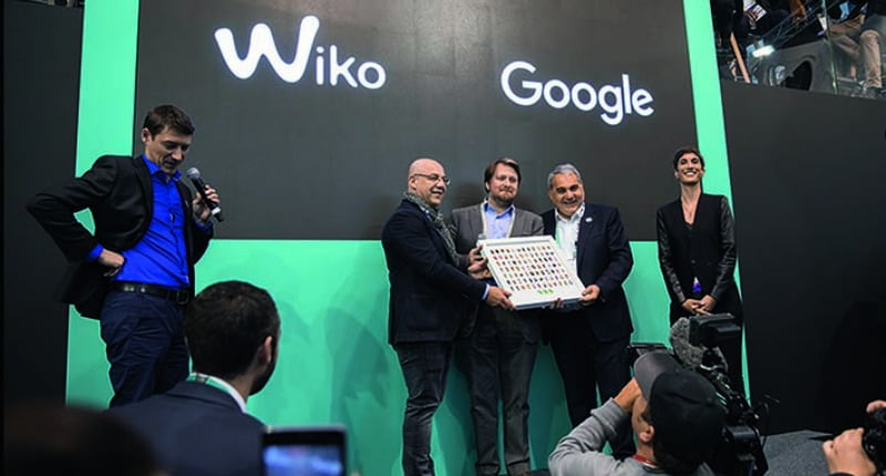 Wiko - Google Android Award 2017 - Distribuição Hoje