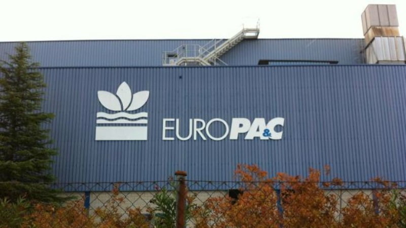 DS Smith oferece 1,67 mil M€ pela Europac