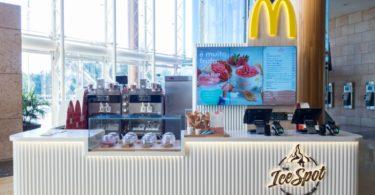 quiosques de gelados da McDonalds