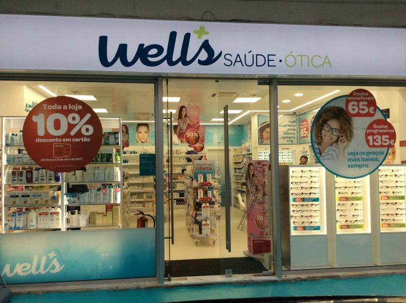 lojas Well's em Lisboa
