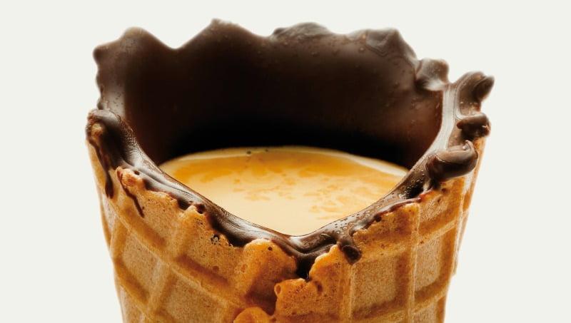 delta Q - cone de gelado com café - Distribuição Hoje