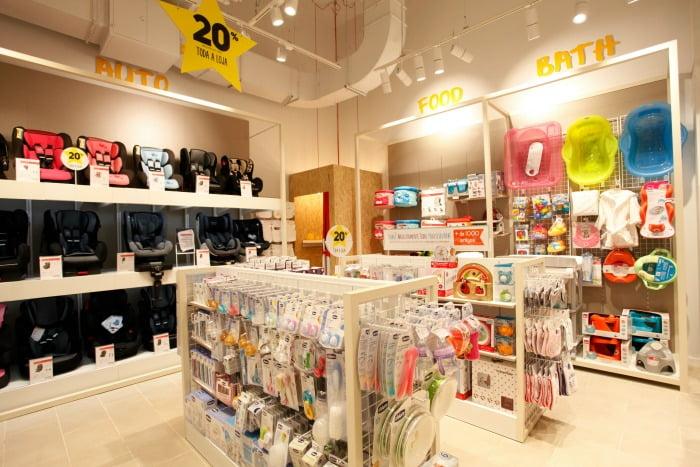 loja produtos para crianças - Distribuição Hoje