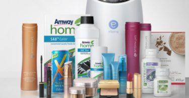 Amway produtos Distribuição Hoje