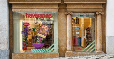 Havaianas abre nova loja no coração de Lisboa