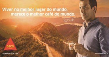 Pauleta dá a cara por nova campanha da Delta Cafés