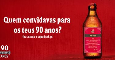 Super Bock celebra 90 anos