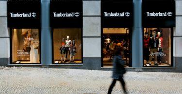 Loja da Timberland na Avenida da Liberdade. Lisboa